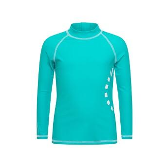Recycled Long-Sleeved Kids' Swimming Top