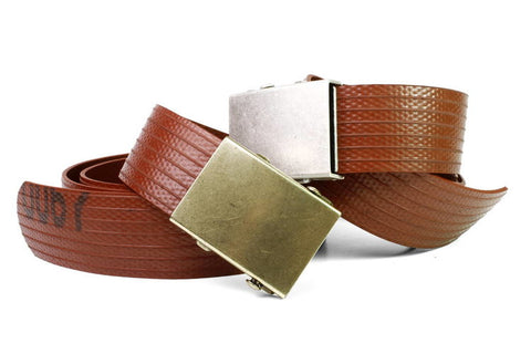 Upcycled Fire Hose Slider Belt