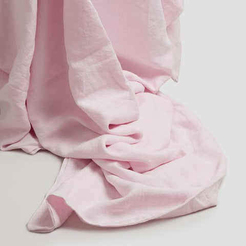 Linen Duvet Cover, Blush Pink - BuyMeOnce Direct - BuyMeOnce UK