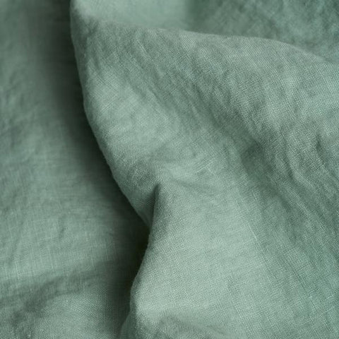 Linen Duvet Cover, Sage Green - BuyMeOnce Direct - BuyMeOnce UK