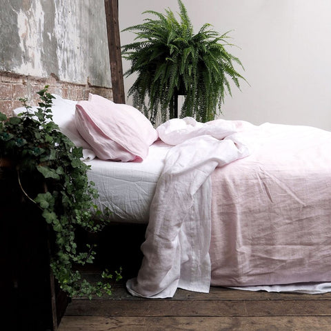 Linen Pillowcase (Pair), Blush Pink - BuyMeOnce Direct - BuyMeOnce UK