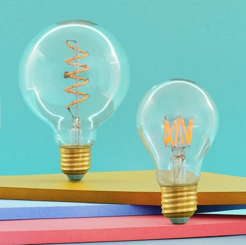 Wanda LED Filament Light Bulb