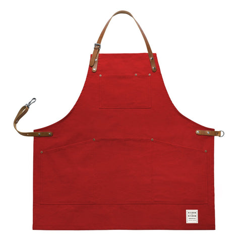 Original Corespun Cotton Apron, Factory Red