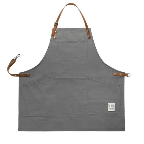 Original Corespun Cotton Apron, Heritage Grey
