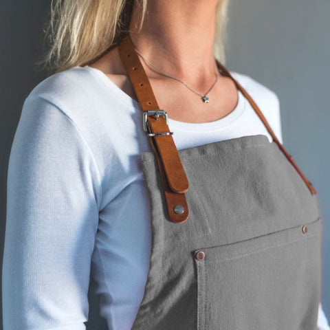 Original Corespun Cotton Apron, Heritage Grey - BuyMeOnce Direct - BuyMeOnce UK