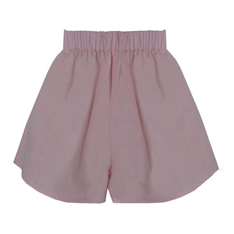 Organic Cotton Women's Poplin Shorts, Pink -  - BuyMeOnce UK