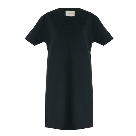 Organic Cotton T-Shirt Dress, Black -  - BuyMeOnce UK