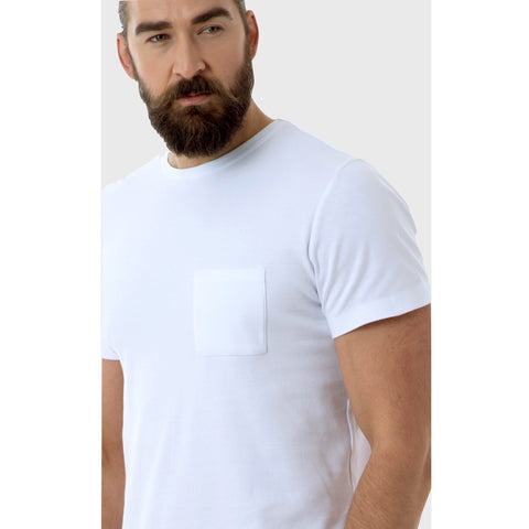 Men's Round Neck T-Shirt with Pocket - BuyMeOnce Direct - BuyMeOnce UK