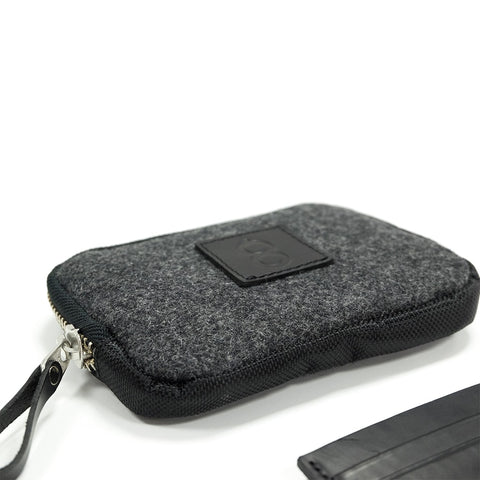 Wool Travel Wallet