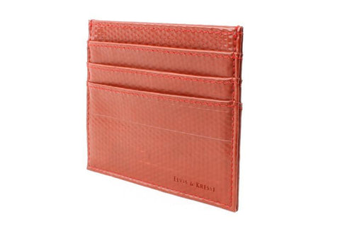 Reclaimed Fire Hose Triple Card Holder