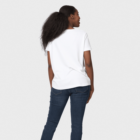 White T-Shirt Co Women‰۪s Loose Fit Scoop Neck T-shirt | BuyMeOnce.com