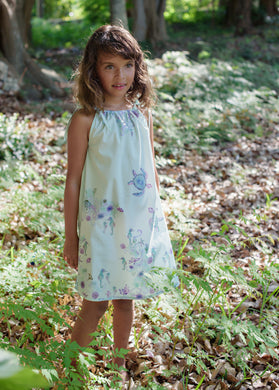 Dress - Xoa Pea - Under the Sea - Azure