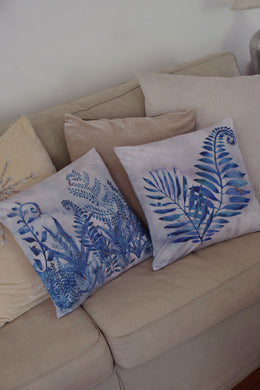 Cushion Cover - Indigo Song - Indigo