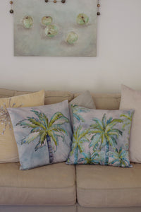 Cushion Cover - Heart of Palms - Moss