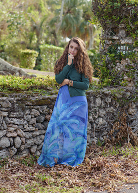 Dress - Quincy - Heart of Palms - Azure