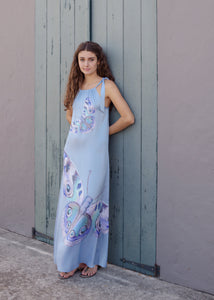 Dress - Xoa - Papillon - Indigo