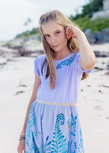 Kid's Dress - Boo - Indigo Song - Lavender