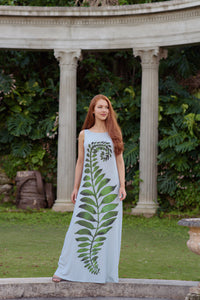 Dress - Quincy - Feather Fern - Moss