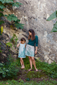 Skirt - Sachi Short - Indigo Song - Aqua