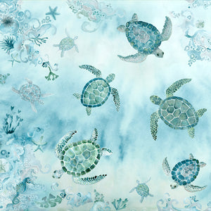 Sarong - Turtle Bay - Aquamarine