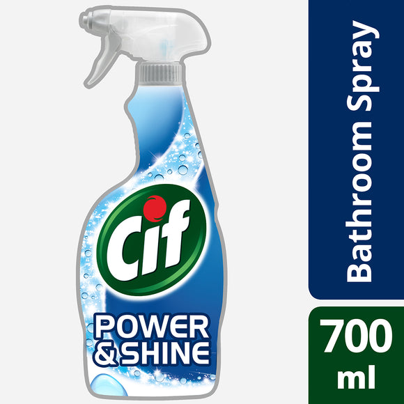 Cif Power & Shine Bathroom Spray, 700ml