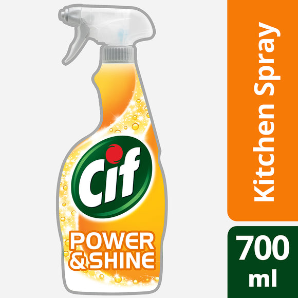 Cif Power & Shine Kitchen Spray, 700ml