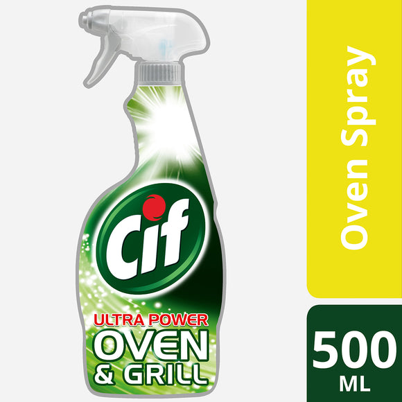 Cif Ultra Power Oven & Grill Cleaning Spray 500ml