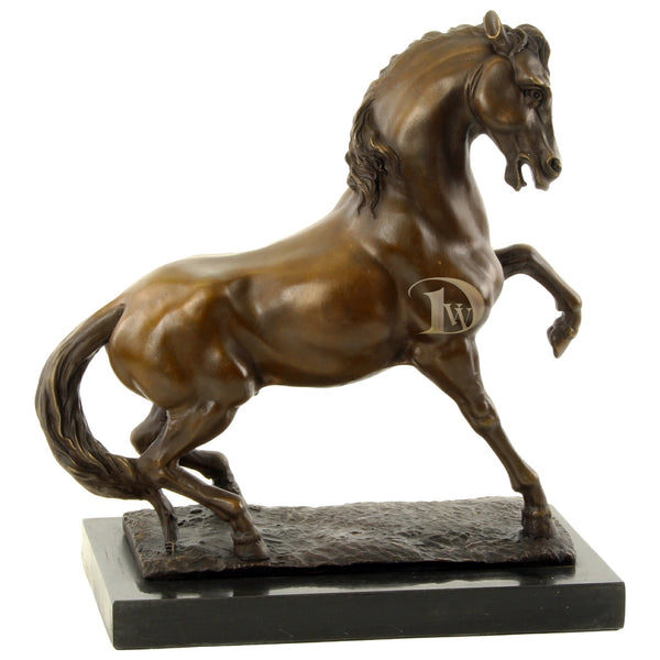 Wild Horse Bronze Sculpture