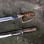 "Polish Cavalry Combat Saber with Scabbard 1934 called ""Ludwikowka"""