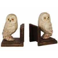 Bookends Set with Owls Figurines