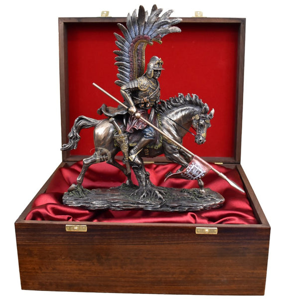 Polish Hussar in Wodden Gift Box