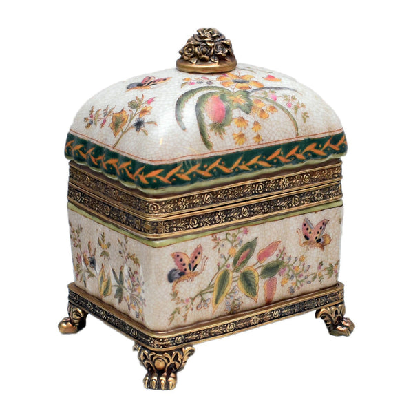 Porcelain Box with Lid