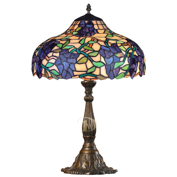 Tiffany Table Lamp Grapevine