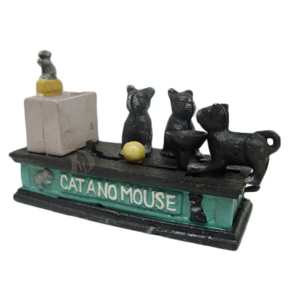 Mechanical Bank The Cat and Mouse