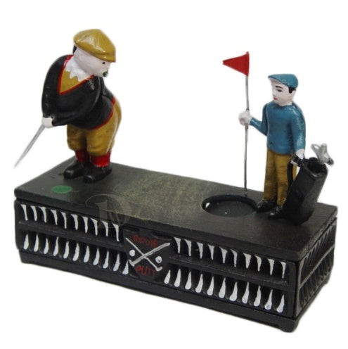 Mechanical Bank The Golfer