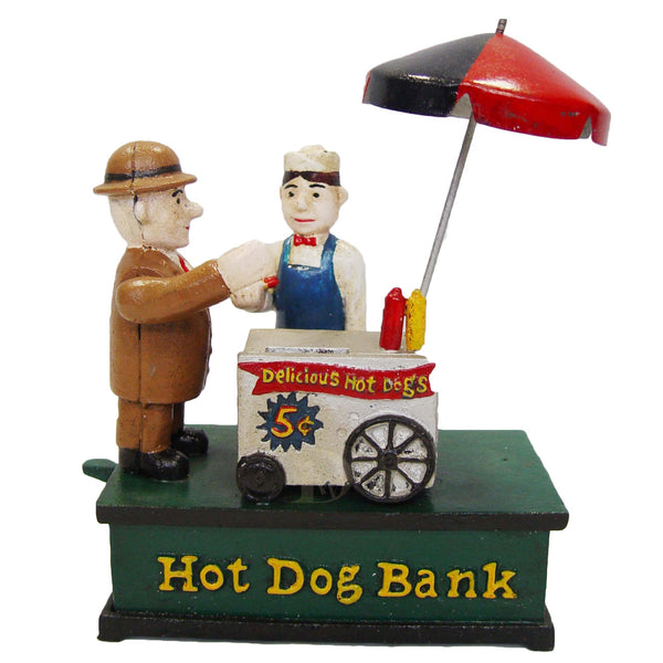Mechanical Bank The Hot Dog Stand