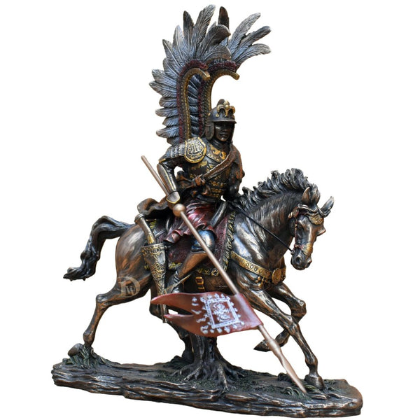 Winged Hussar on Horse