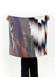 'OPTICHROMIE 115' SILK SCARF