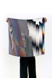 Silk Scarf 'OPTICHROMIE 115'