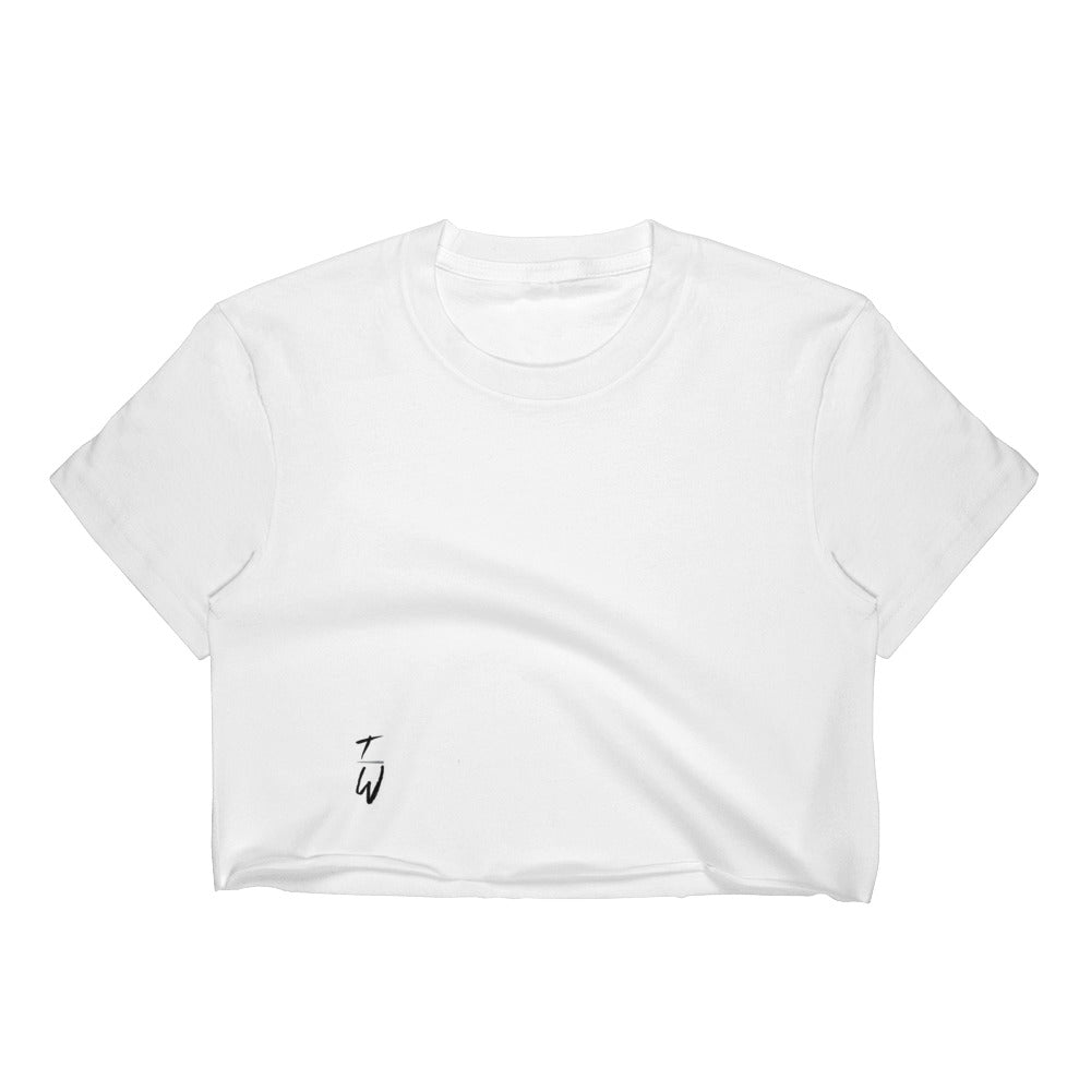 TW Women's Crop Top (white)