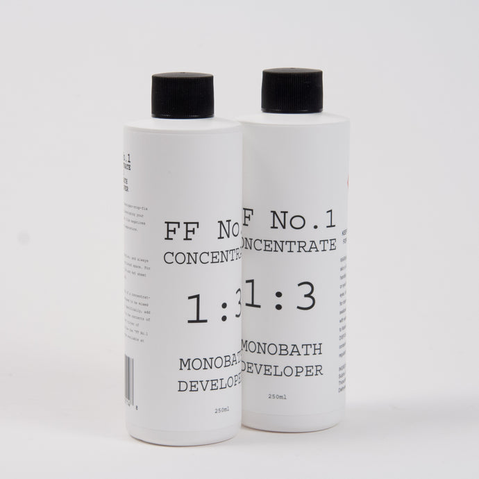 FF No.1 CONCENTRATE 1:3 MONOBATH DEVELOPER (Two Pack, 2x250ml)