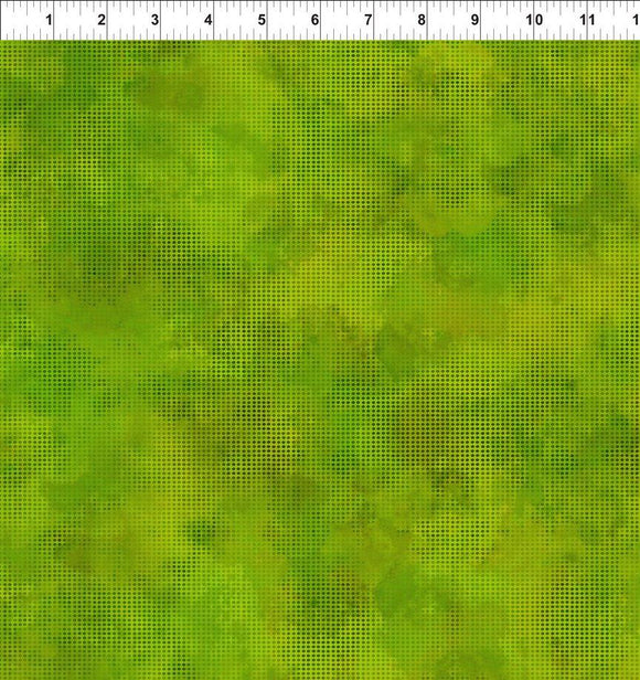 In The Beginning Fabrics, Dit Dot Evolution, Grass, 1DDE-21