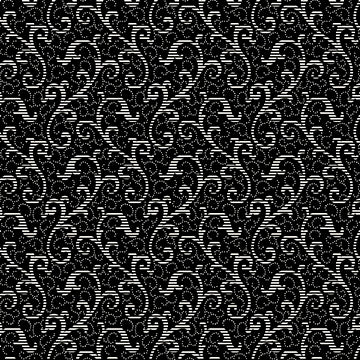 QT Fabrics, Colebrook, Scroll, Black, 24542-J