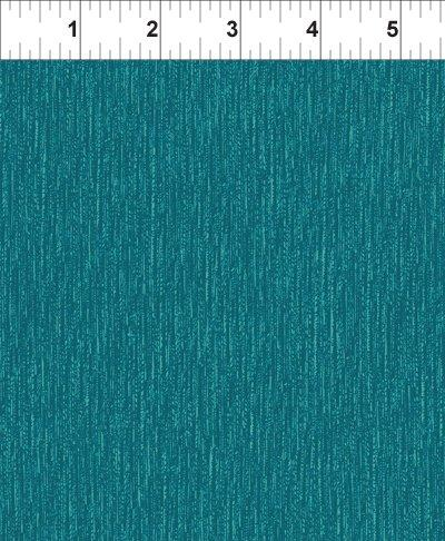 In The Beginning Fabrics, Texture Graphix, Vertical, Teal, 2TG 13