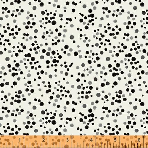 Windham, Kaleidoscope, Dots, Ivory, 50991-1