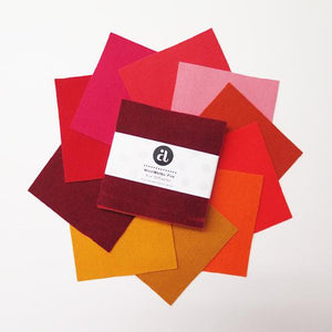 "Andover, Woolwerks, 5"" x 5"", Fire, 10 Swatches, 1SFIREX"