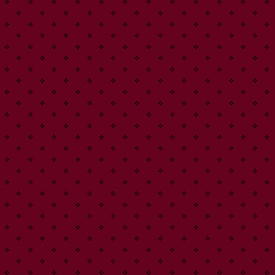 Andover Fabric, Trinkets by Kathy Hall  Red/Tic Tac Toe A-8632-R