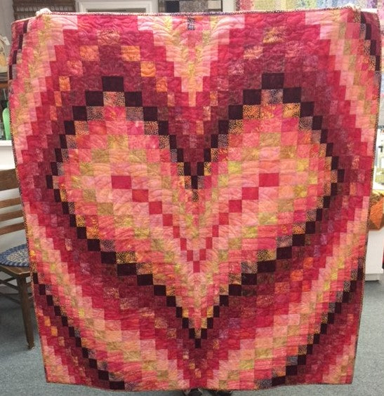 October 6, 2018 Bargello Heart Class
