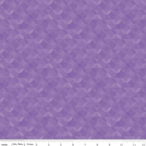 Riley Blake Designs, Crayola Kaleidoscope, CR480, Violet