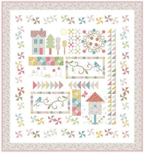 QT Fabrics, Spring on Bleecker Street Quilt Kit